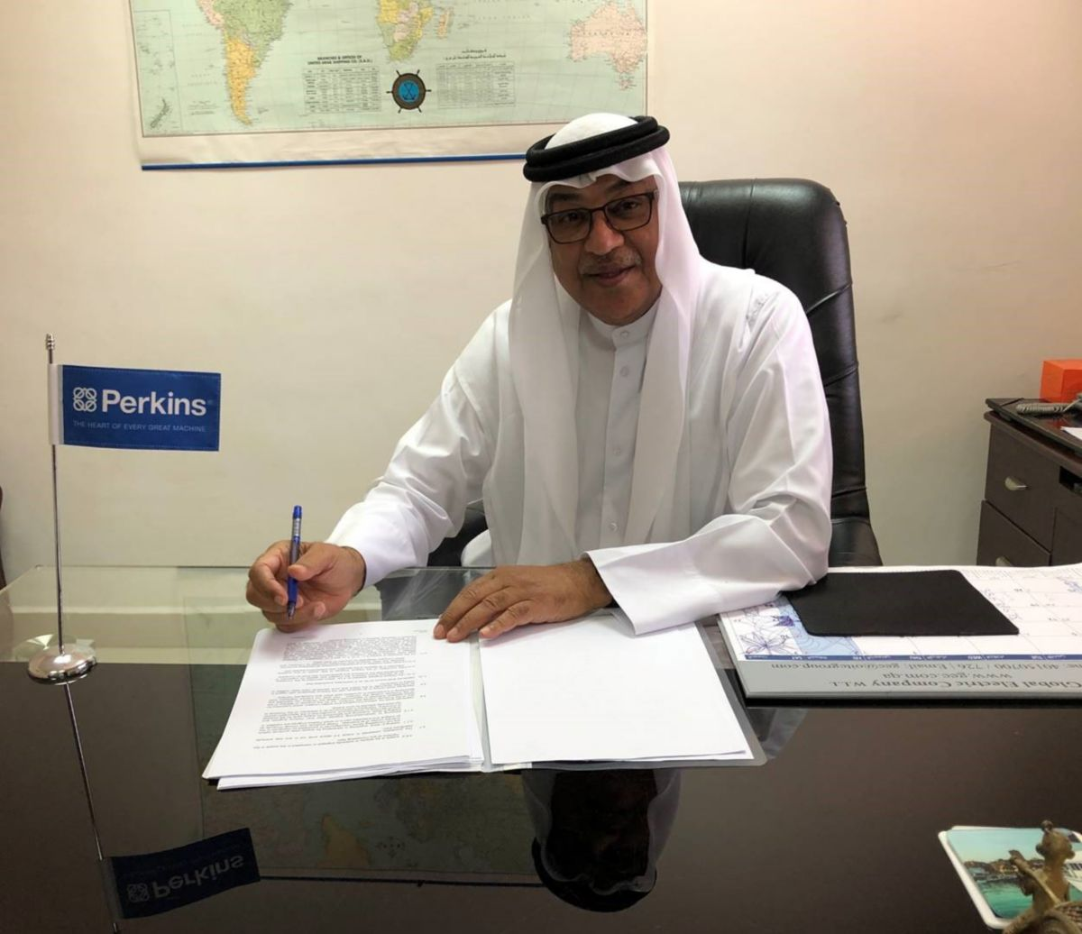 Perkins appoints Obaikan as its distributor for Qatar