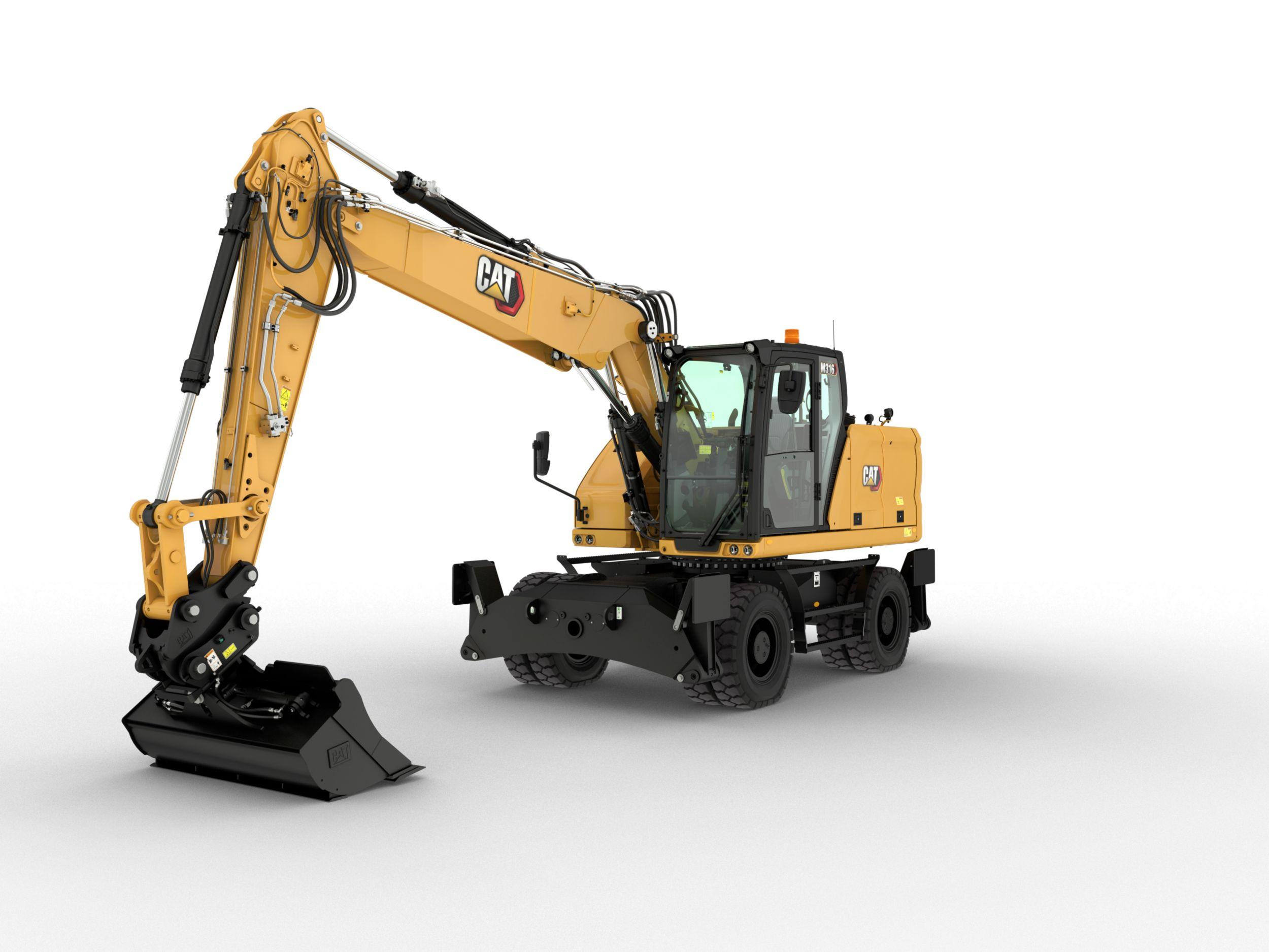 M316 Wheeled Excavator