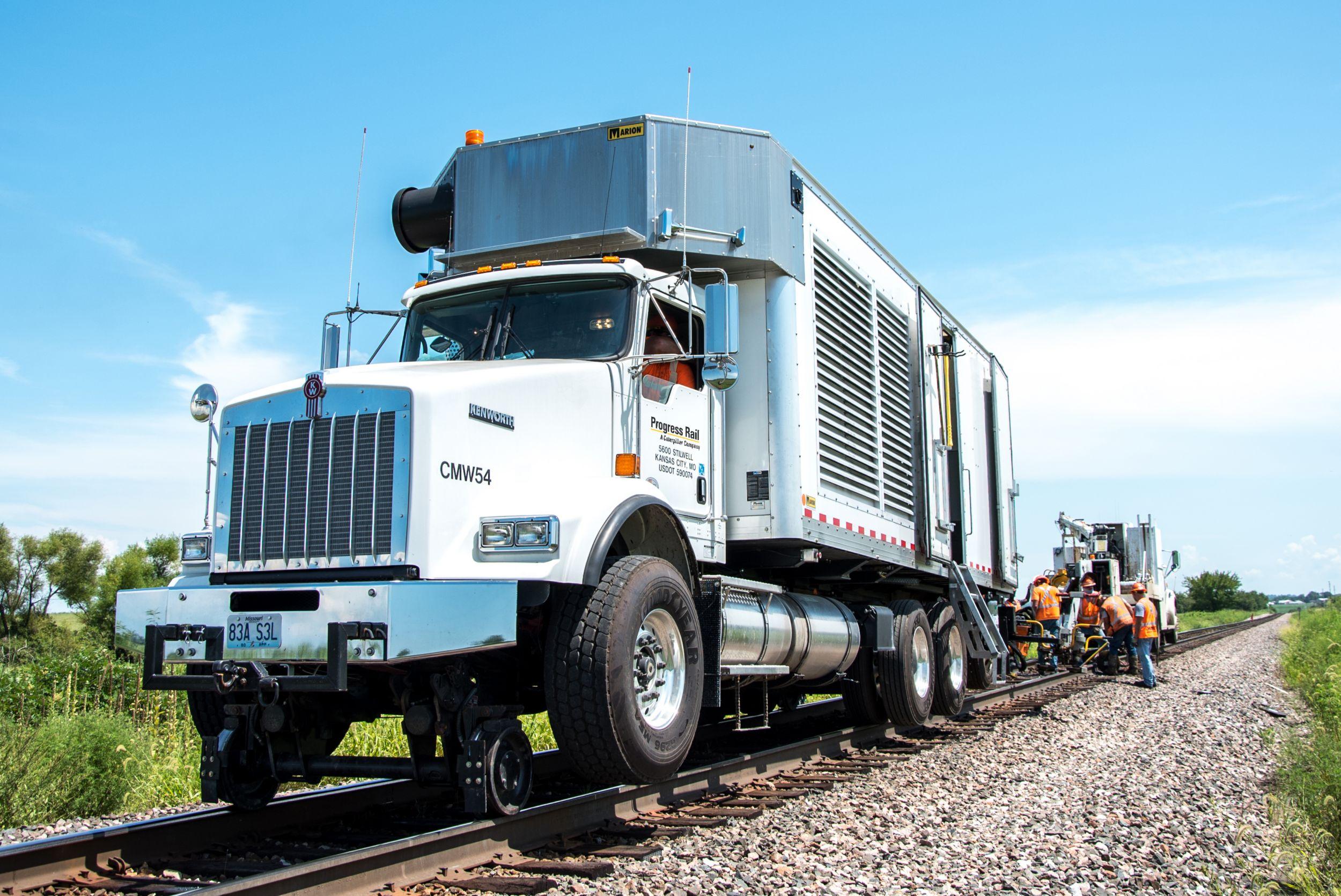 AC Welding Truck