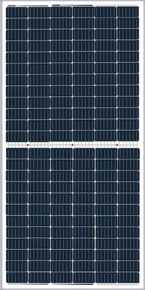 Cat PVC Photovoltaic Module Bifacial Halfcut