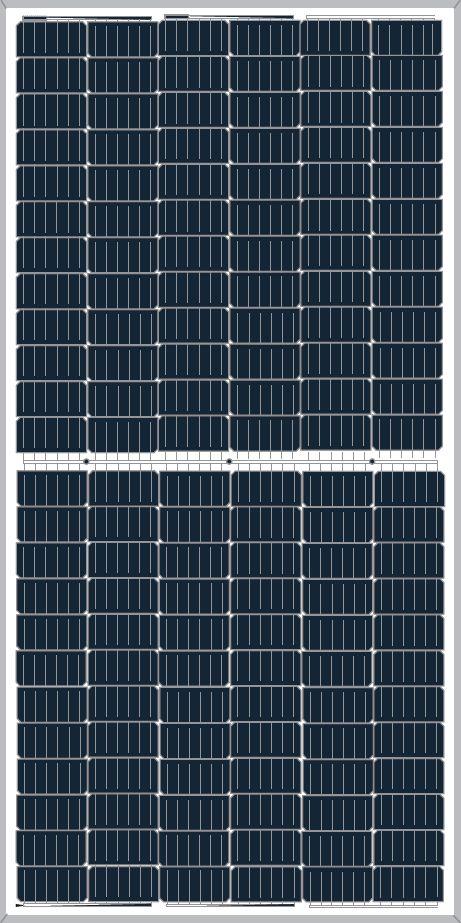 Cat PVC Photovoltaic Module Halfcut