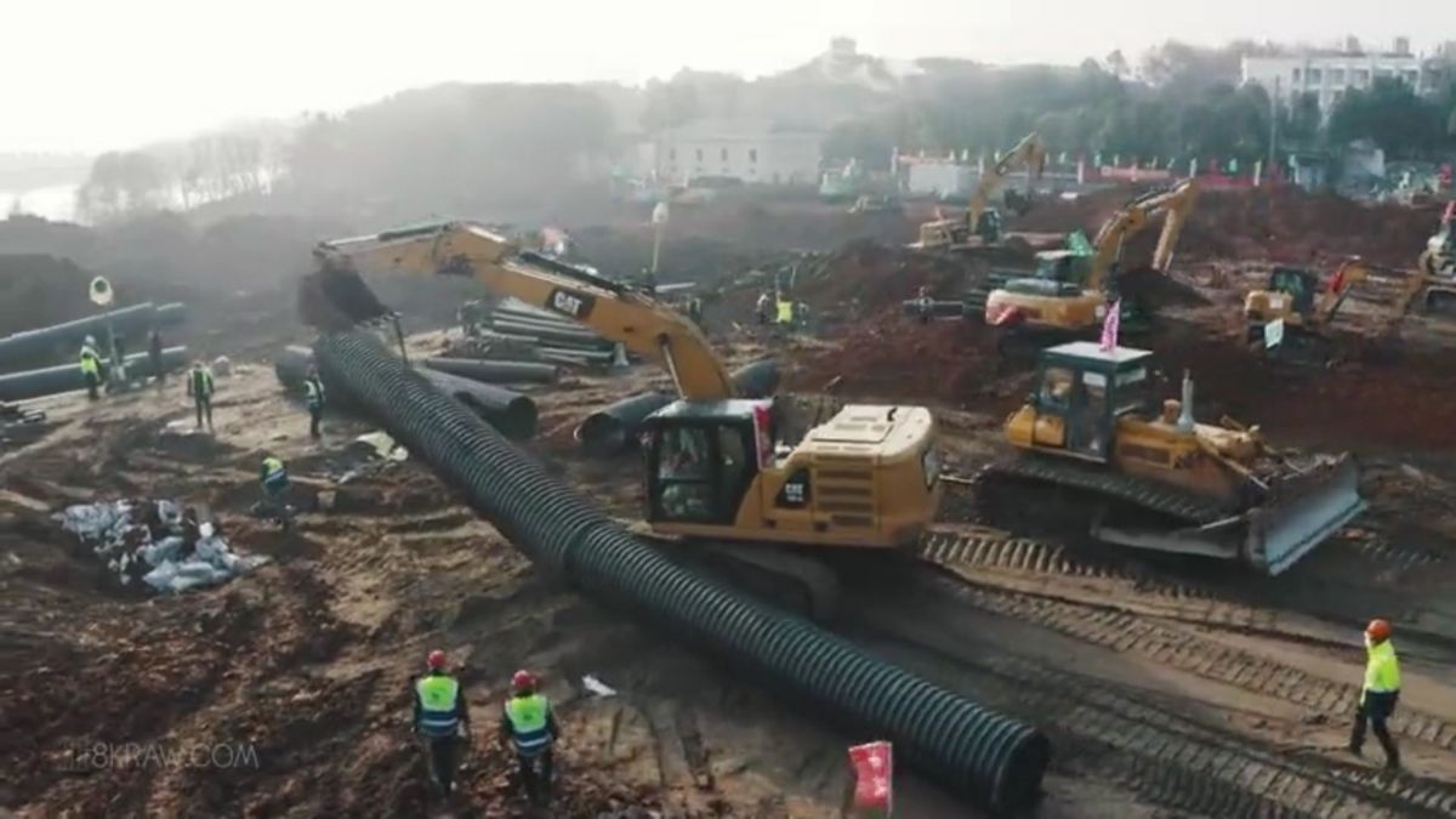 Helping in Wuhan