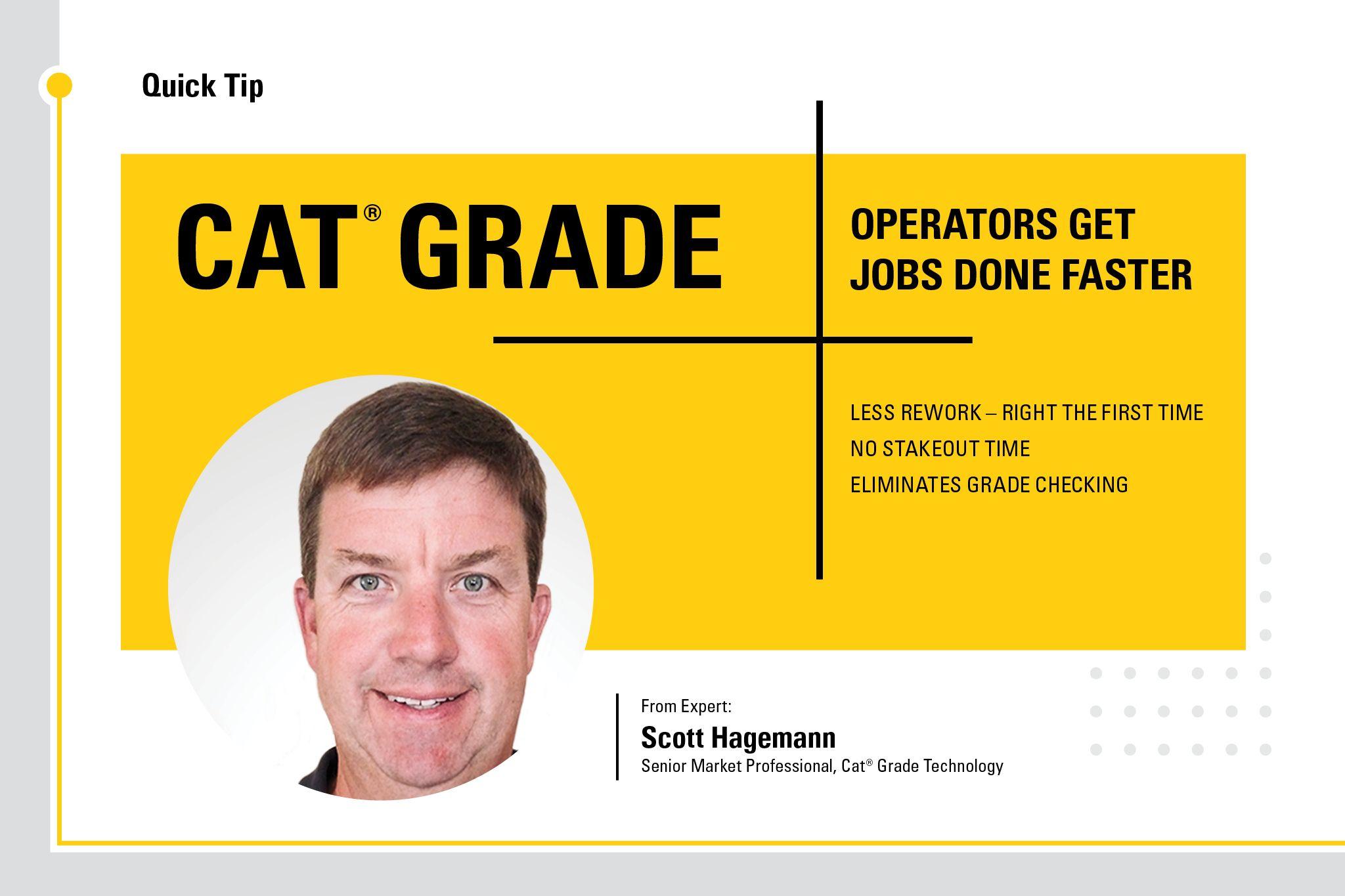 Cat Grade: Operators get jobs done faster.