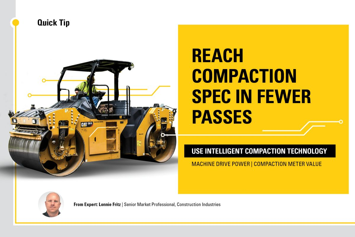 Reach compaction spec in fewer passes.