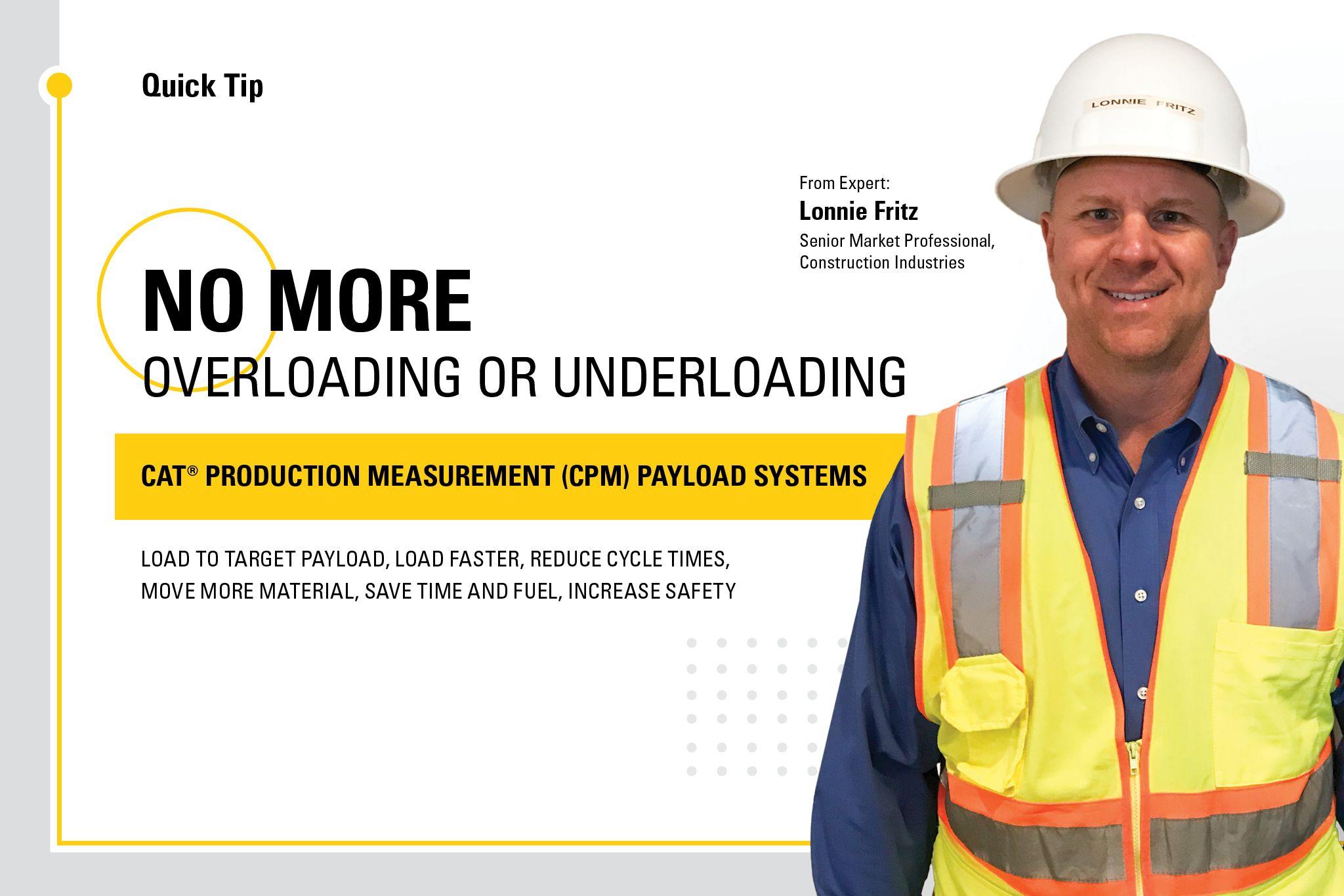 No more overloading or underloading.