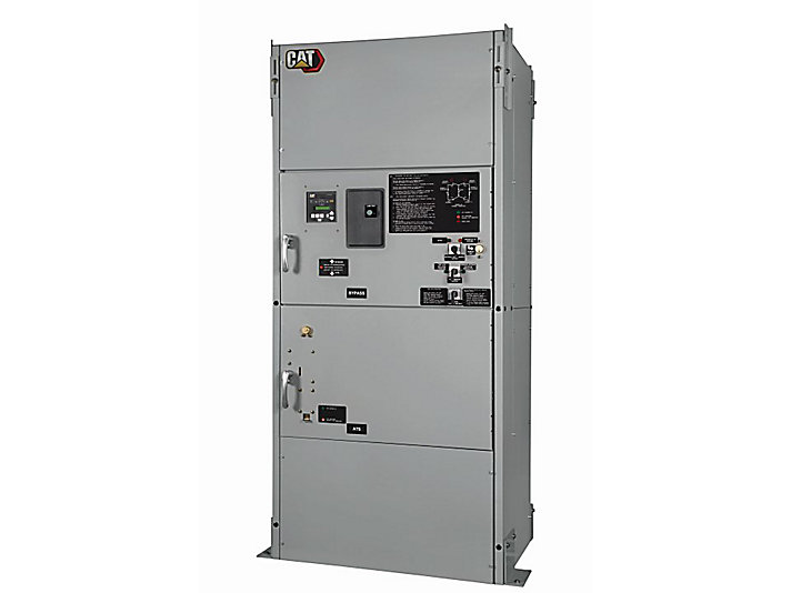 ATC Contactor Based Bypass Isolation Automatic Transfer Switch ATS ATC  Breaker / Contactor   Cat   CaterpillarCat