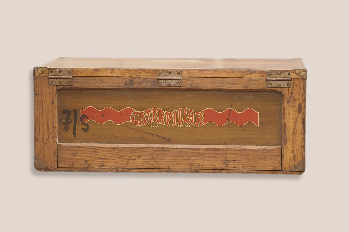 WOODEN BOX FOR SHIPPING PARTS