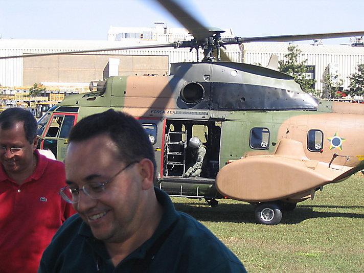 Amaraí trabalhou emu ma visita presidencial à Caterpillar