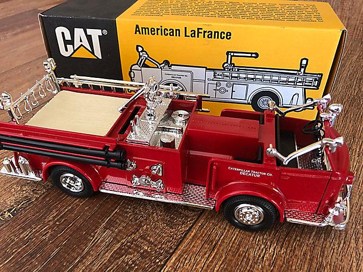 Caminhão de bombeiros da planta de Decatur