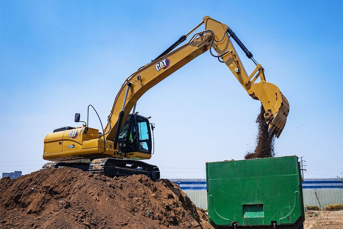 Cat®(卡特)320 GX系列挖掘机最新融资优惠