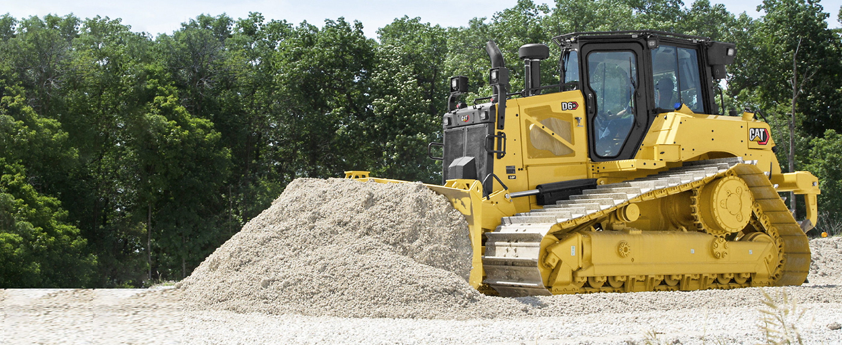 Cat® dozers move more material in less time.