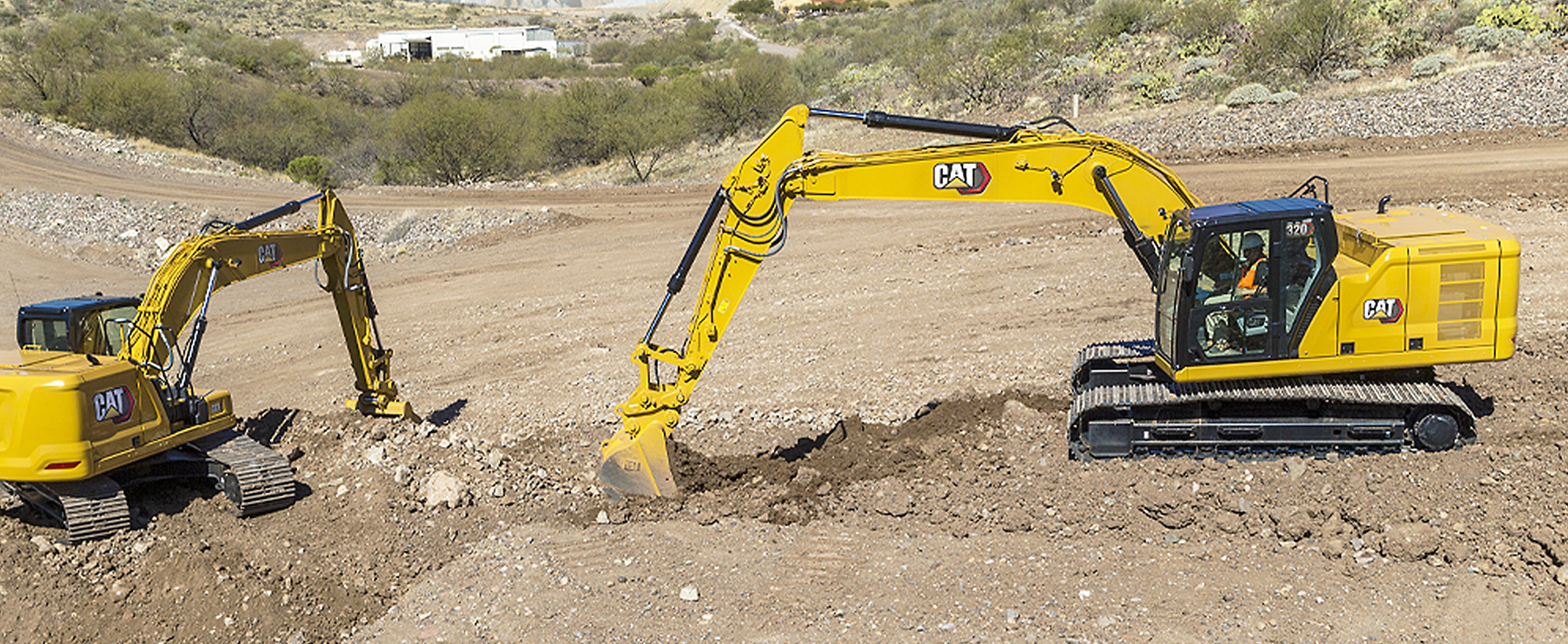 Cat machines are involved in a variety of construction projects in Japan