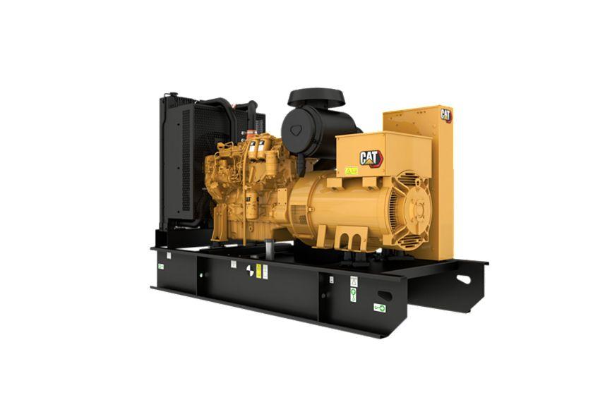 C7.1 Diesel Generator Rear Left