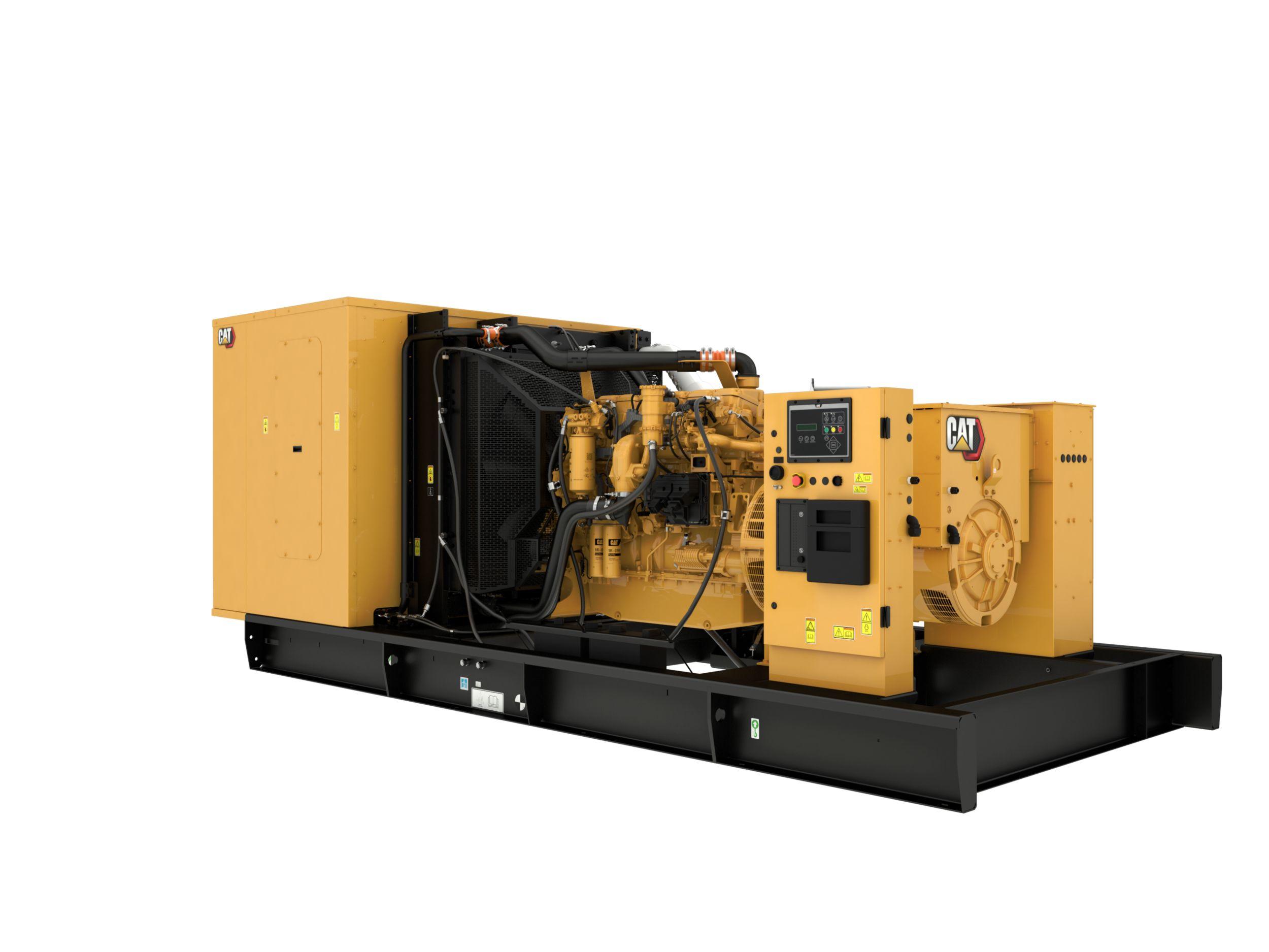 C18 60 Hz Tier 4 Rear Left