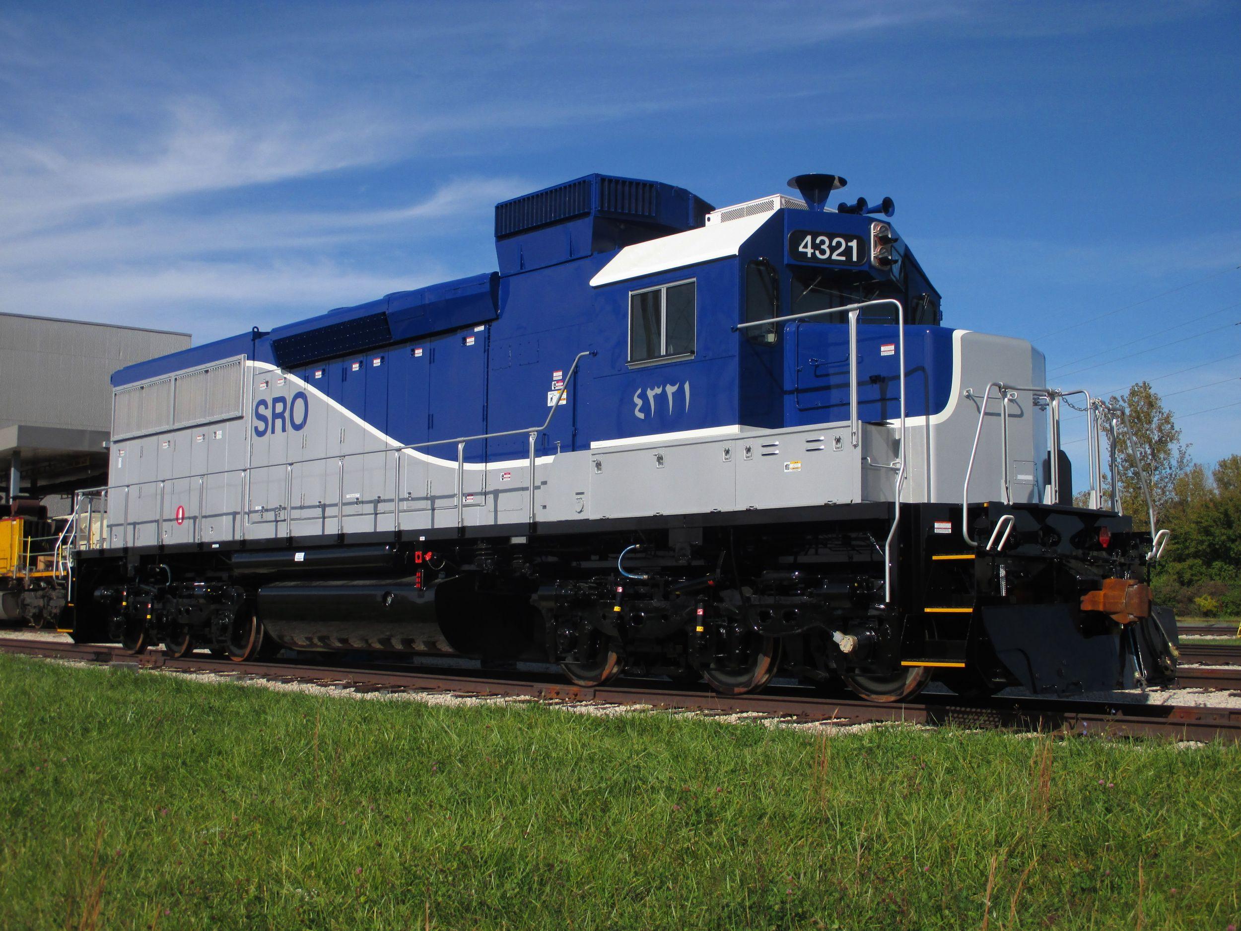 EMD® SDL38 Freight Locomotive