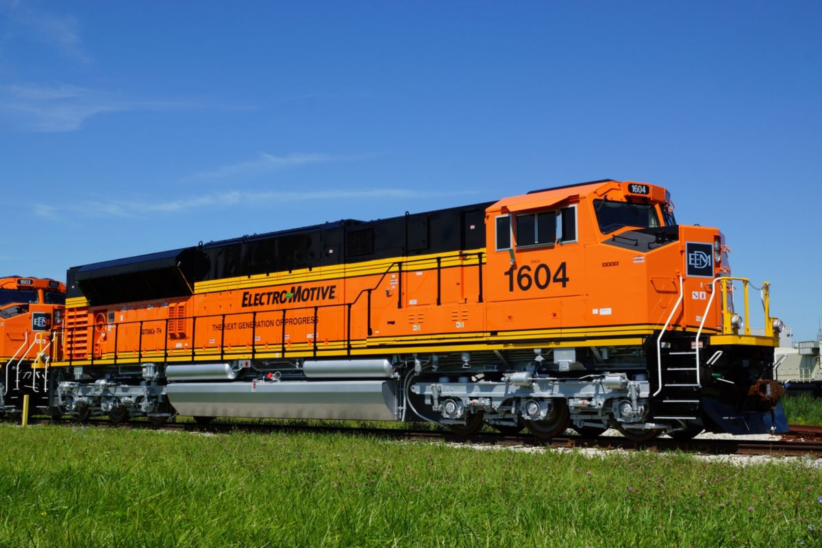 EMD® SD70ACe-T4P4 Freight Locomotive
