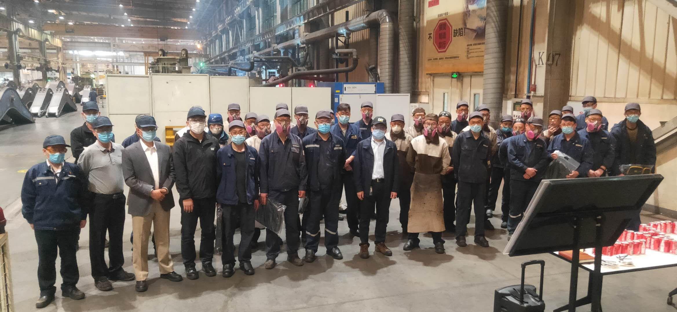 Caterpillar China's Welding Skills Competition