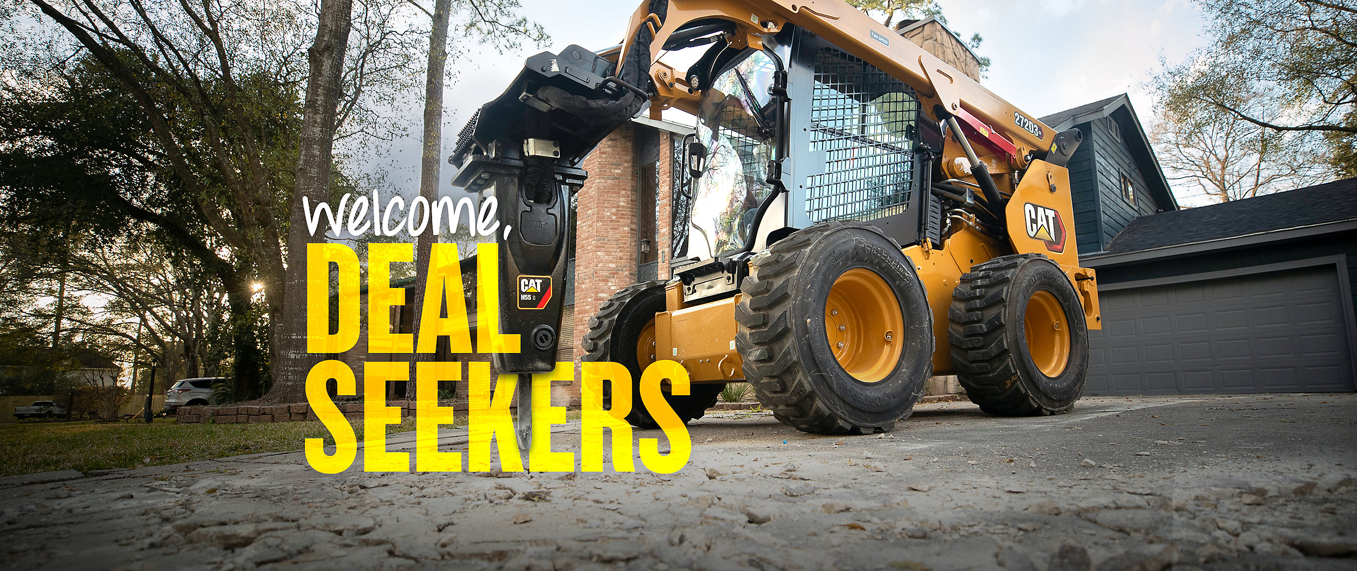 Compact Equipment Offers - Welcome, Deal Seekers