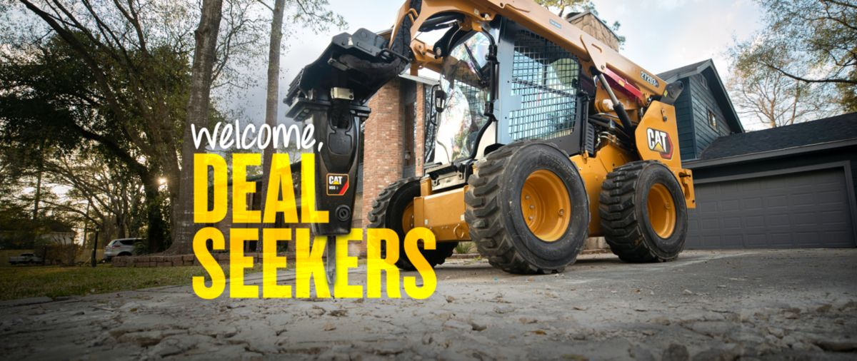 Cat Skid Steer Loader - Welcome, Deal Seekers