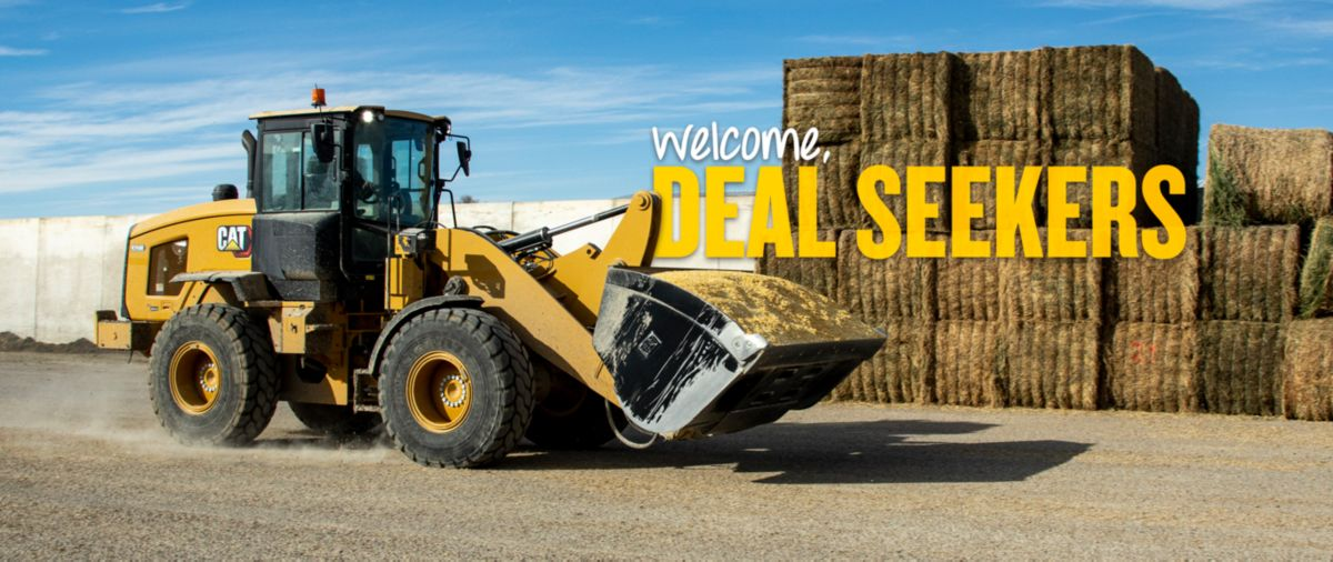Cat Small Wheel Loader - Welcome, Deal Seekers