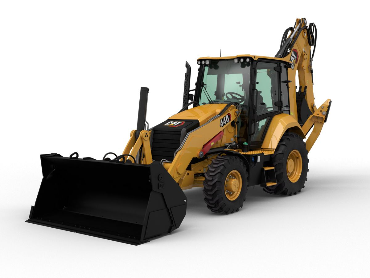 The Cat® 440 Backhoe Loader is as versatile as they come, loaded with features to help you do more work.