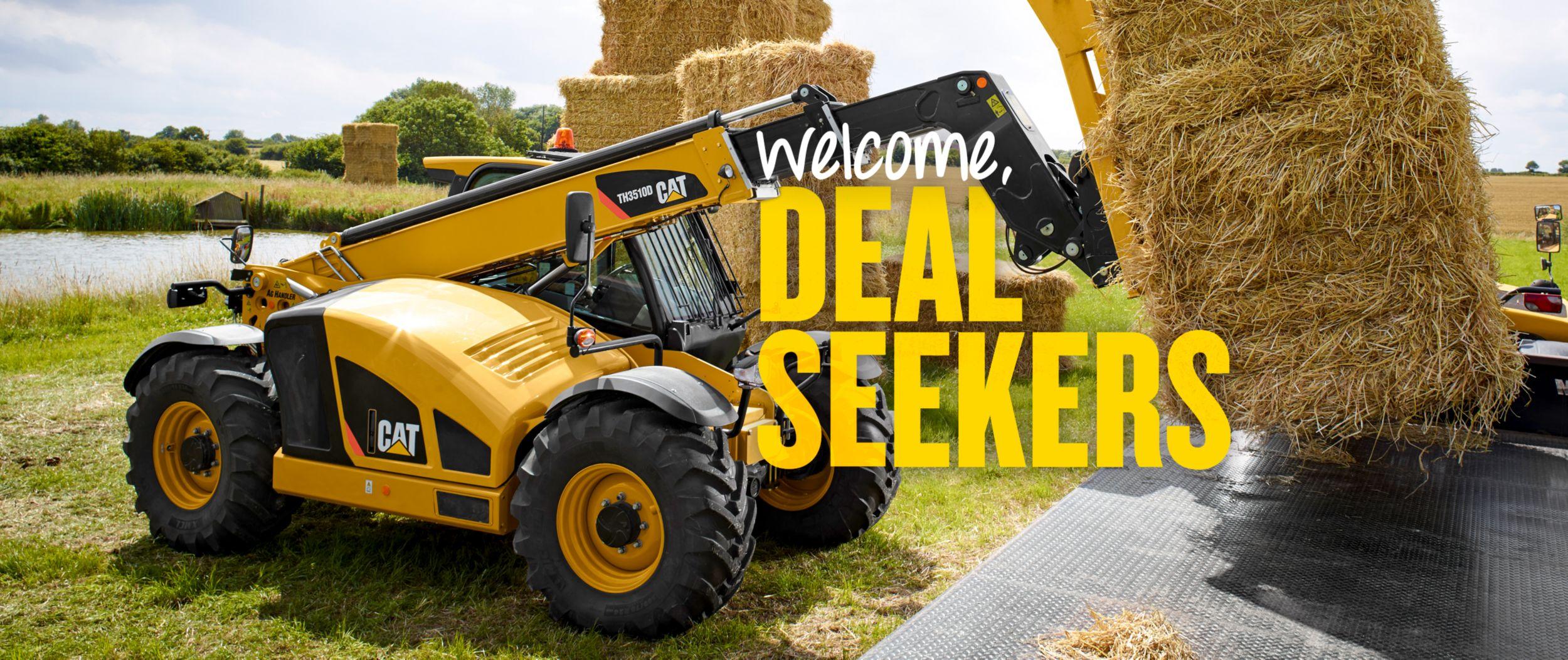 Cat Telehandler - Welcome, Deal Seekers