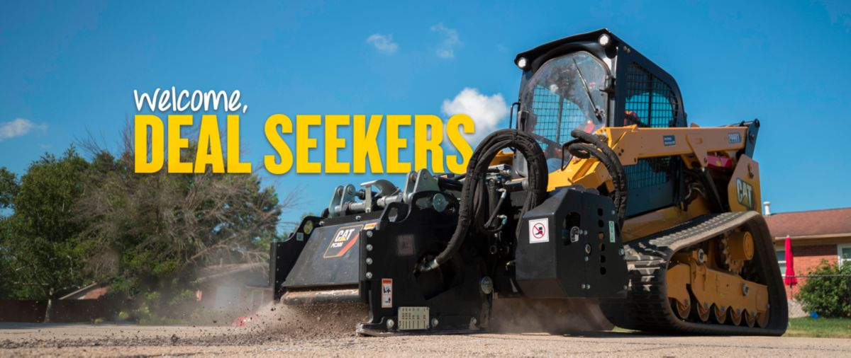 Compact Track Loader - Welcome, Deal Seekers