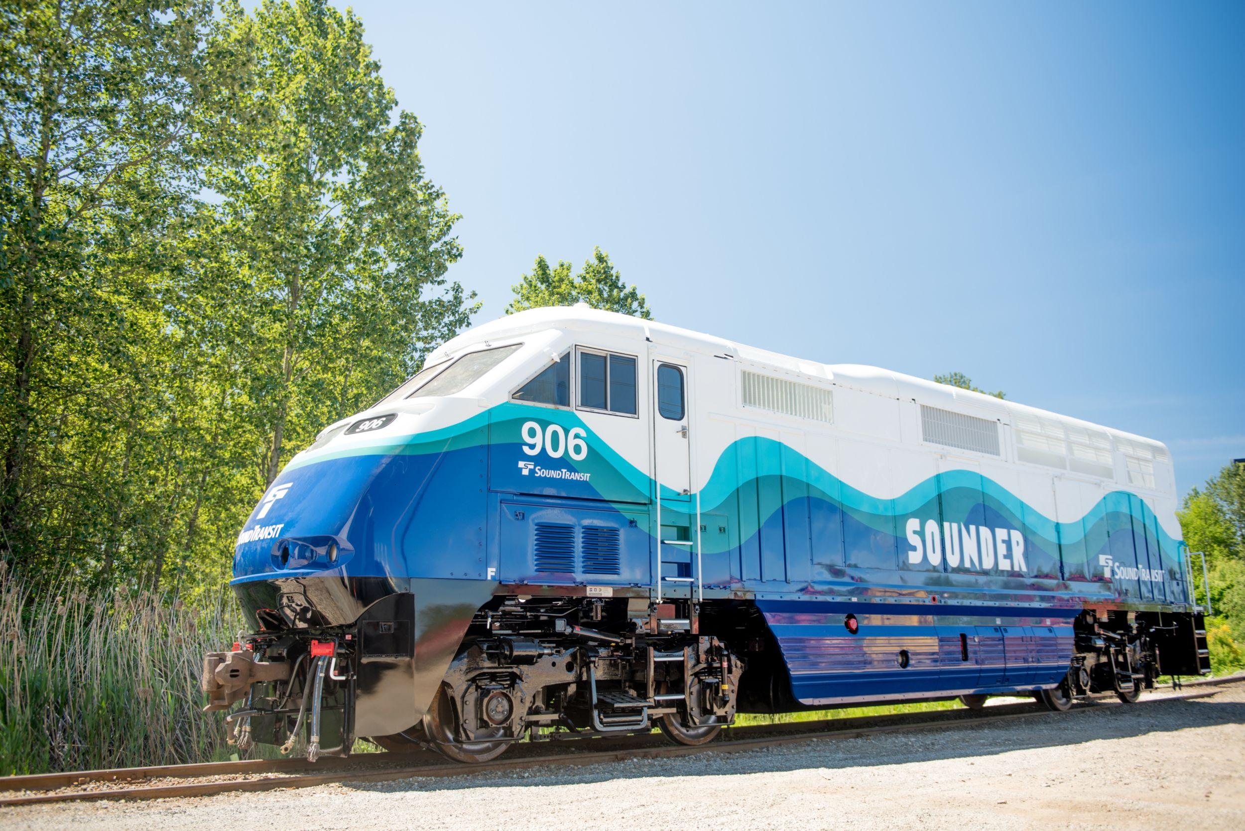 F59PHIT3 Repowered Passenger Locomotive