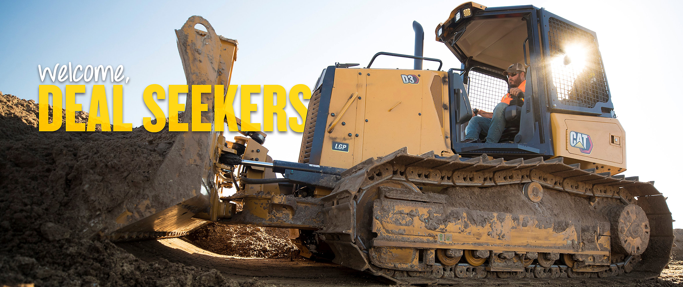 Cat Small Dozer - Welcome, Deal Seekers