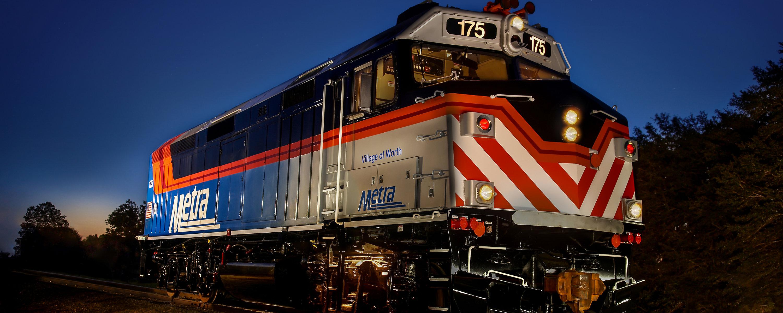 EMD® F125 Passenger Locomotive