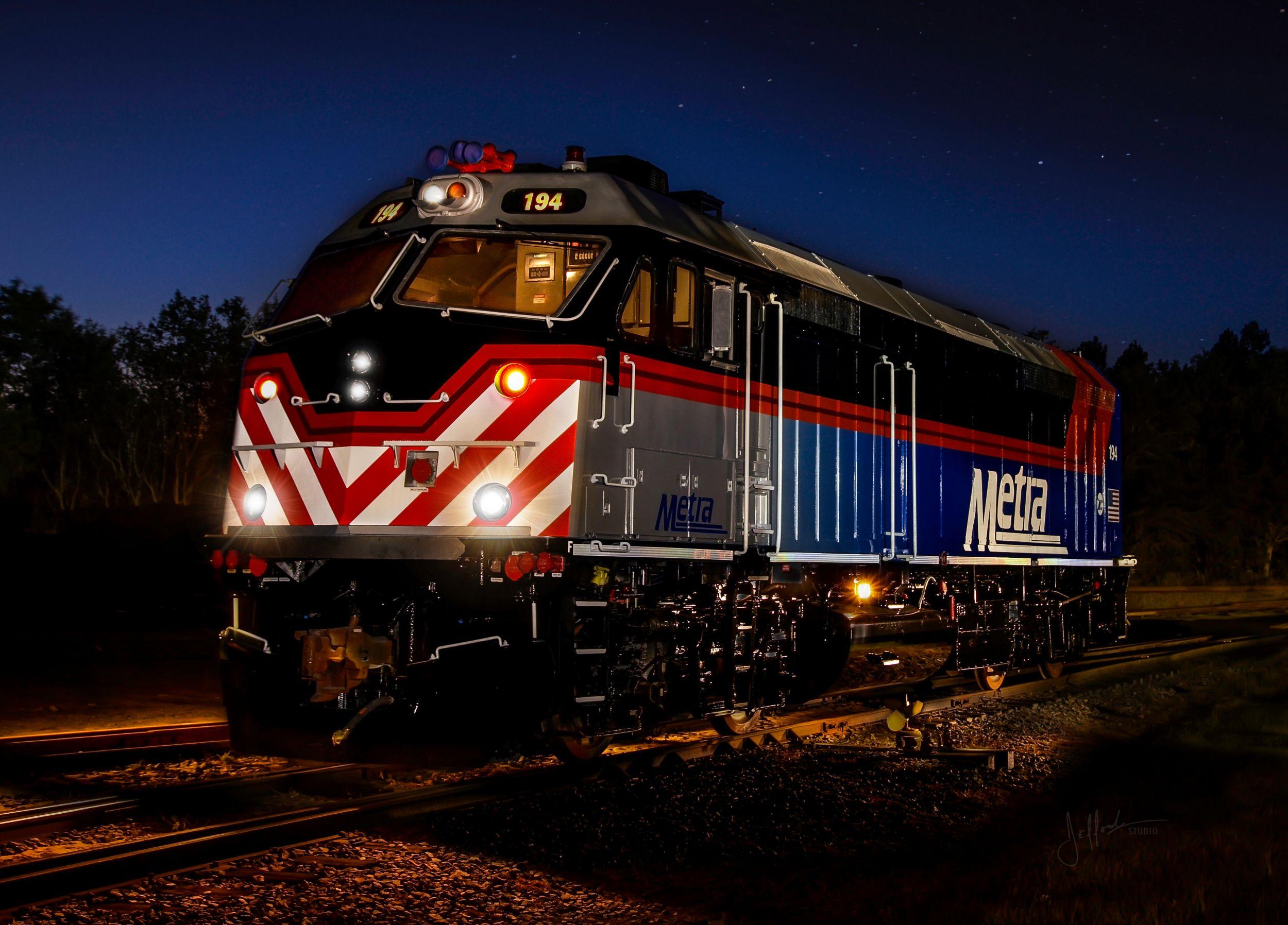 F40PHM-2 Repowered Passenger Locomotive