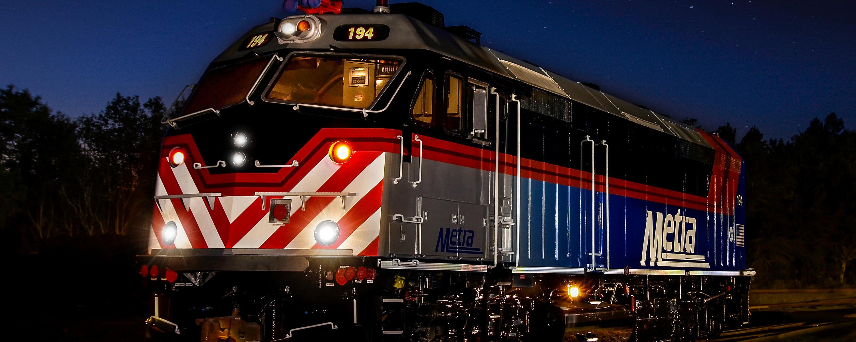 Repowered Passenger Locomotives