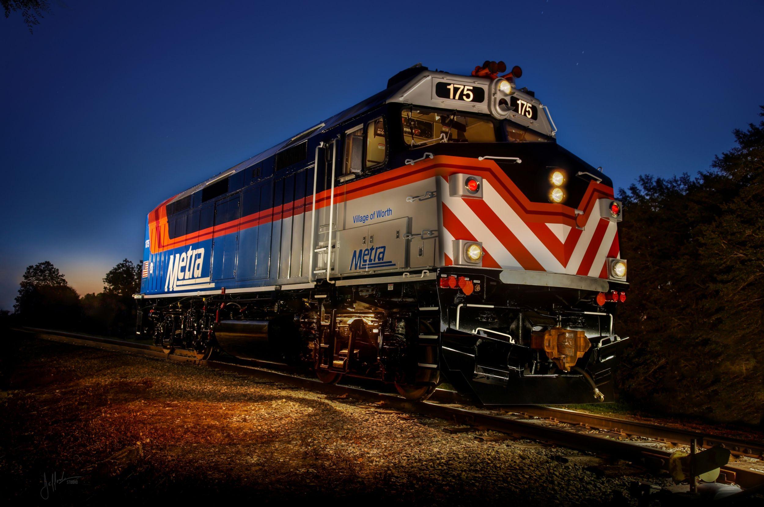 F40PH-2 Repowered Passenger Locomotive