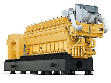 Cat® G20CM34 gas generator set