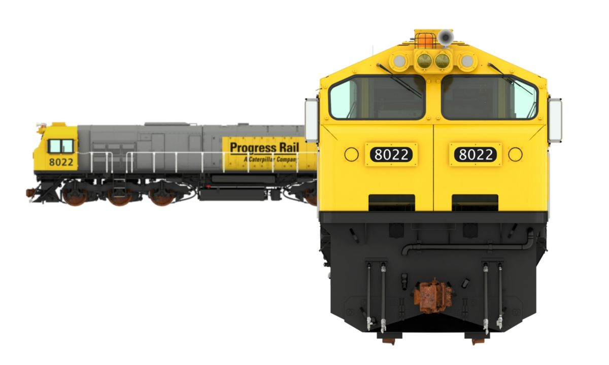 GT38ACL Freight Locomotive