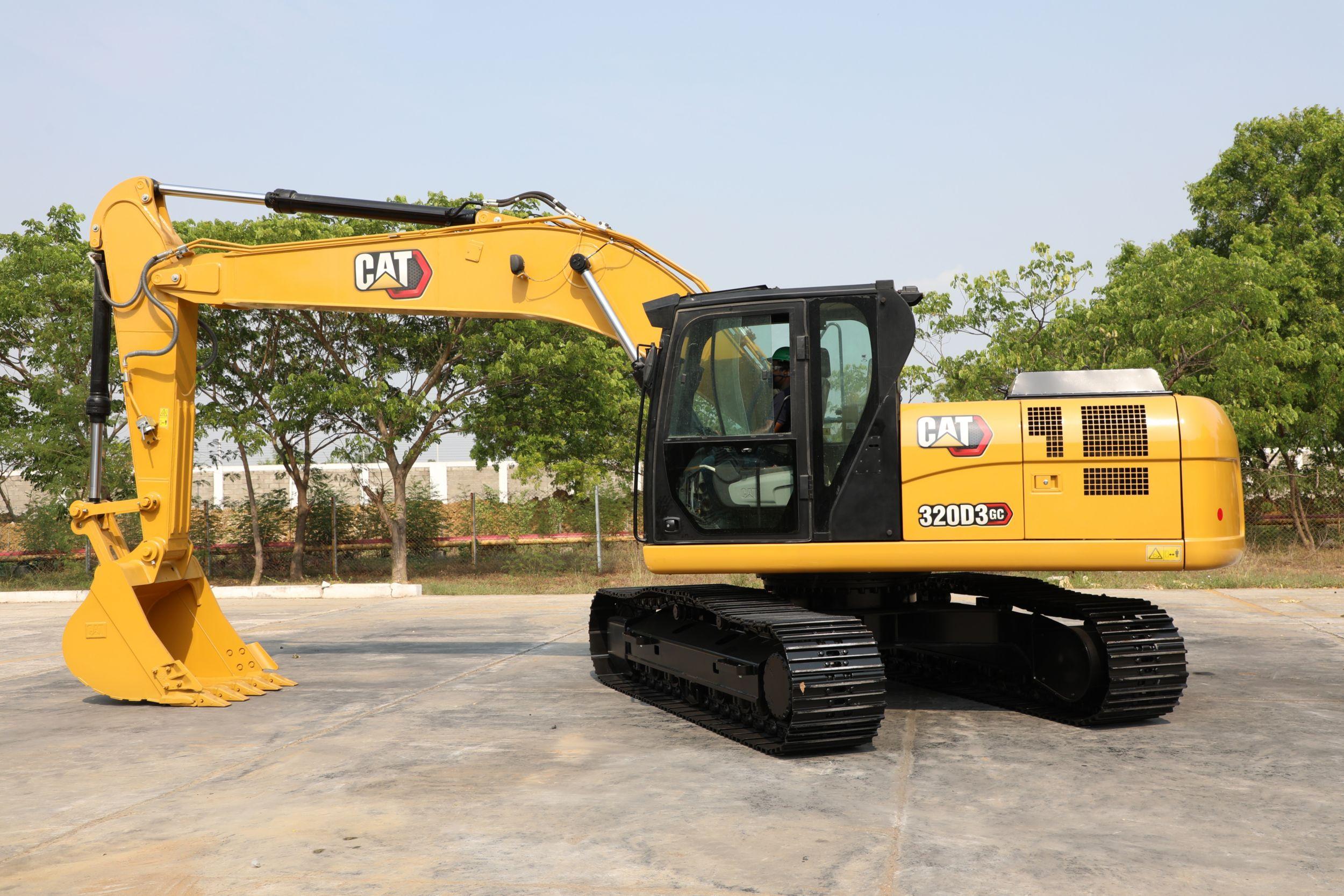 320D3GC excavators