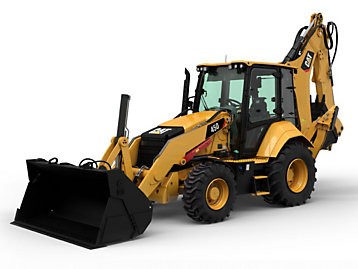 The Cat® 450 Backhoe Loader is a versatile, easy-to-operate machine built for comfort, performance and skillfulness.