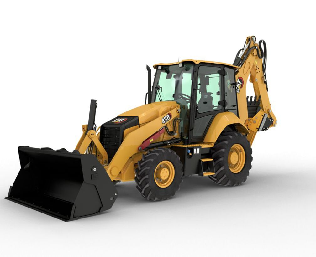 The new Cat® 430 Backhoe Loader provides comfort, performance and machine versatility – in one easy-to-operate Backhoe Loader.