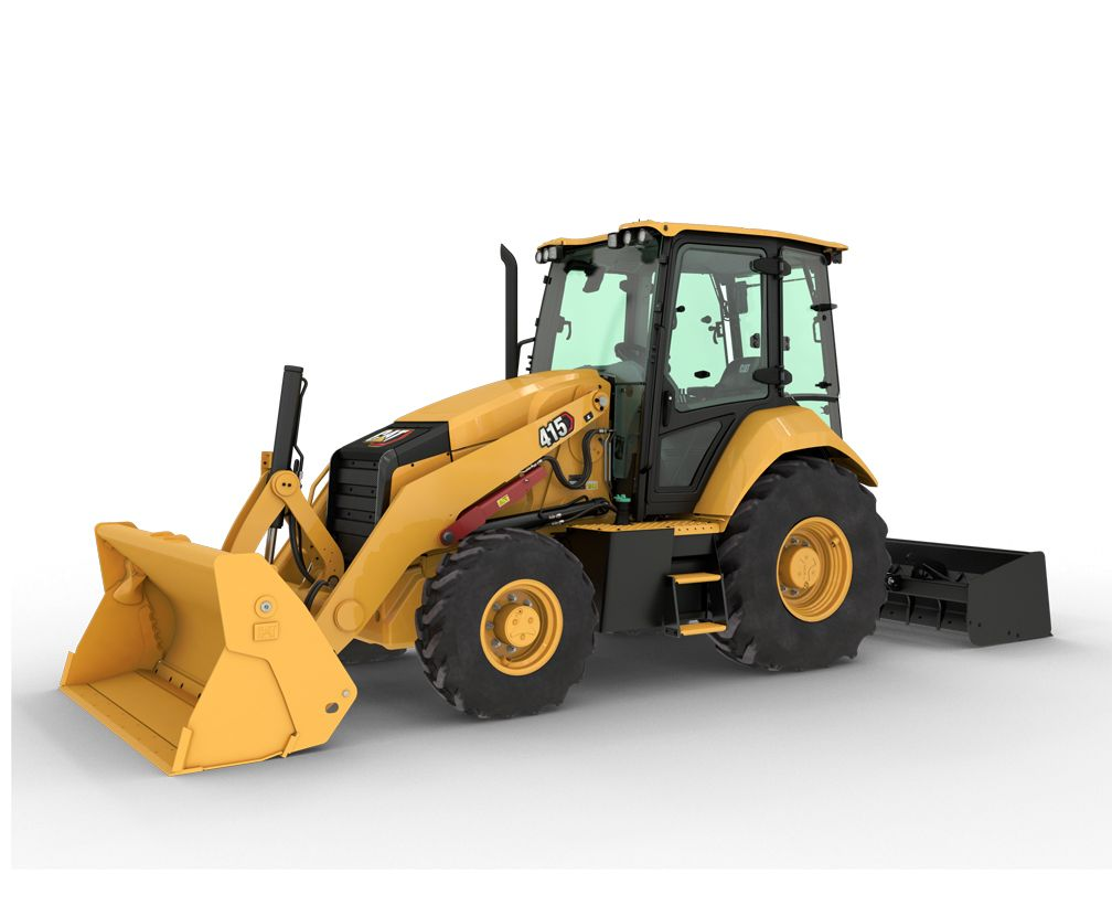 The Cat® 415 Backhoe Loader puts performance in the front seat with features designed to help you do more, easier.