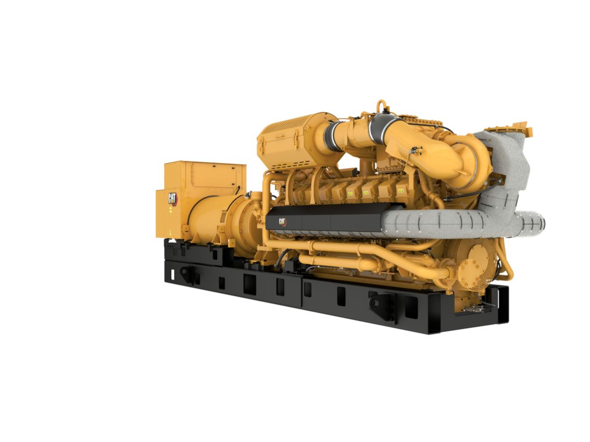G3516H 60 Hz Gas Generator Sets Front Right view>