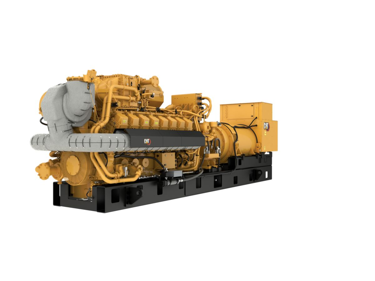 G3516H 60 Hz Gas Generator Sets Front Left view>