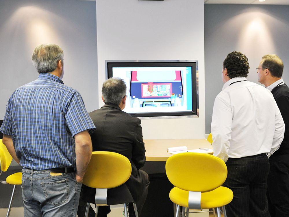 The Customer Machine Engineering Team