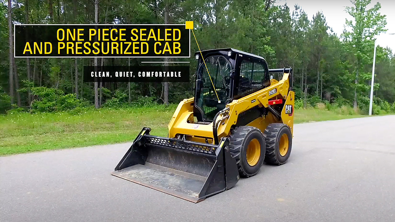 Cat D3 Skid Steer and Compact Track Loaders Features and Benefits Overview