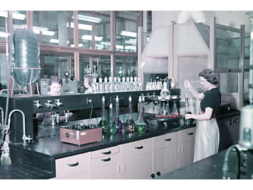 Lois Garton was Caterpillar's first woman chemist.