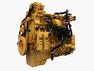 C7.1 Industrial Engine