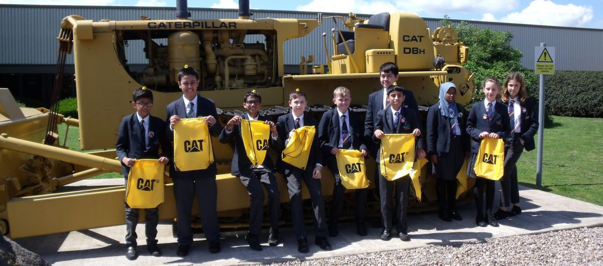 Streamlined Excellence: How Caterpillar UK Inspires the Community to Choose STEM