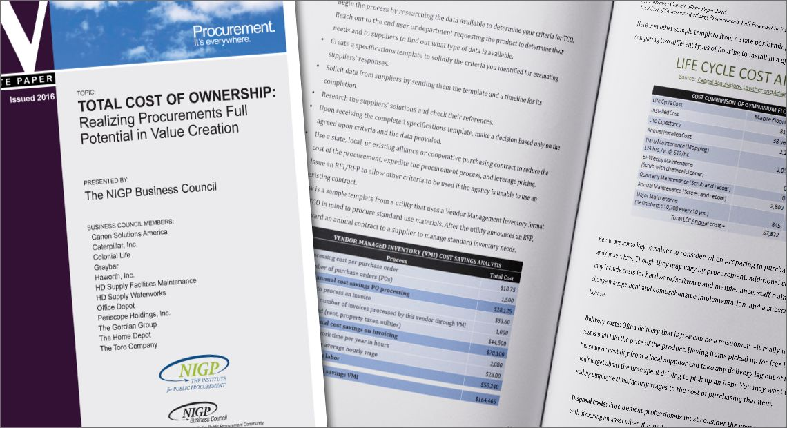 Total Cost of Ownership: Realizing Procurement's Full Potential In Value Creation
