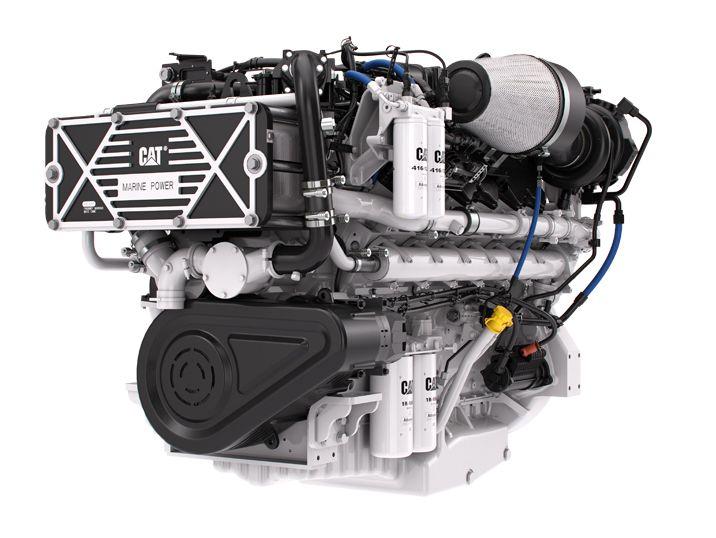 Caterpillar Marine Introduces the Cat® C32B Marine Engine