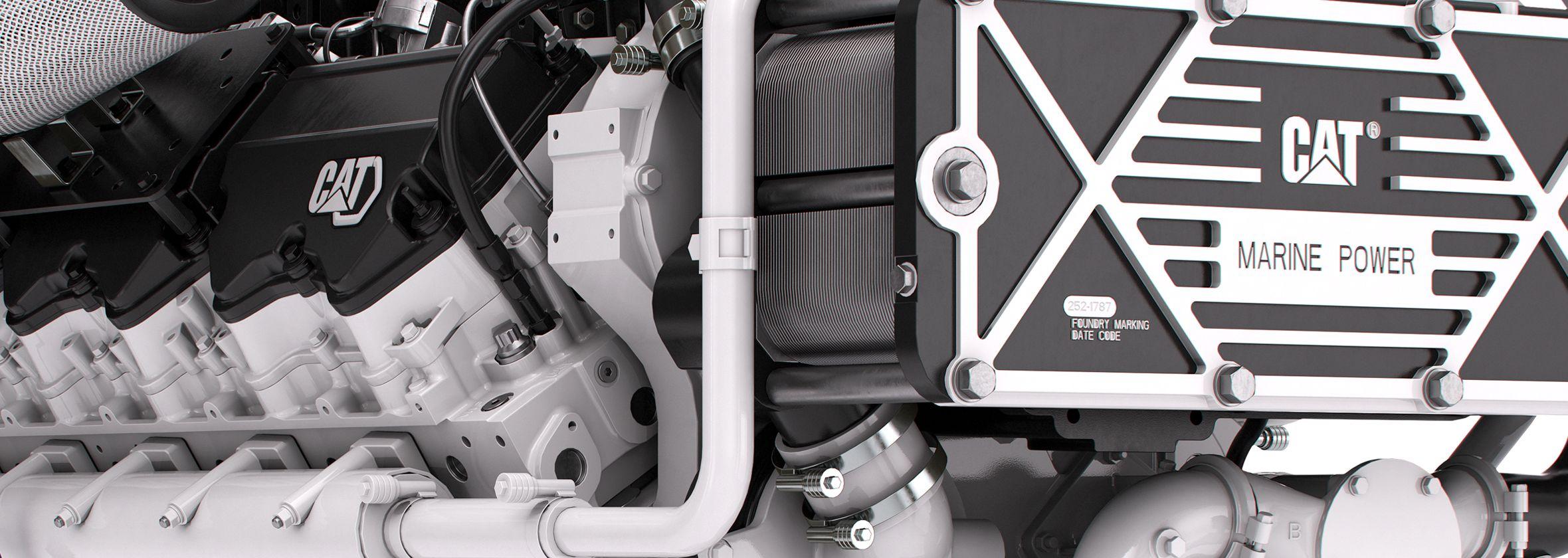 C32B marine engine