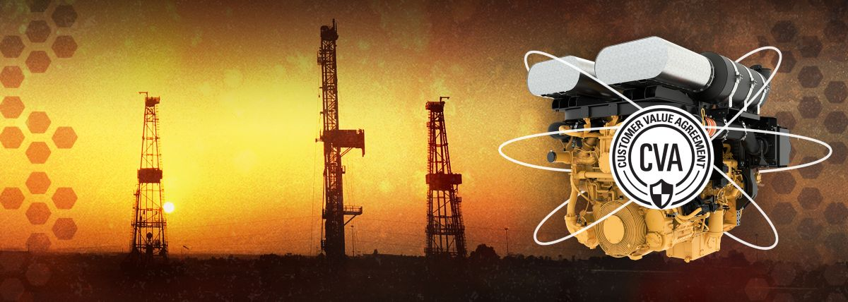 Oil and gas customer value agreements